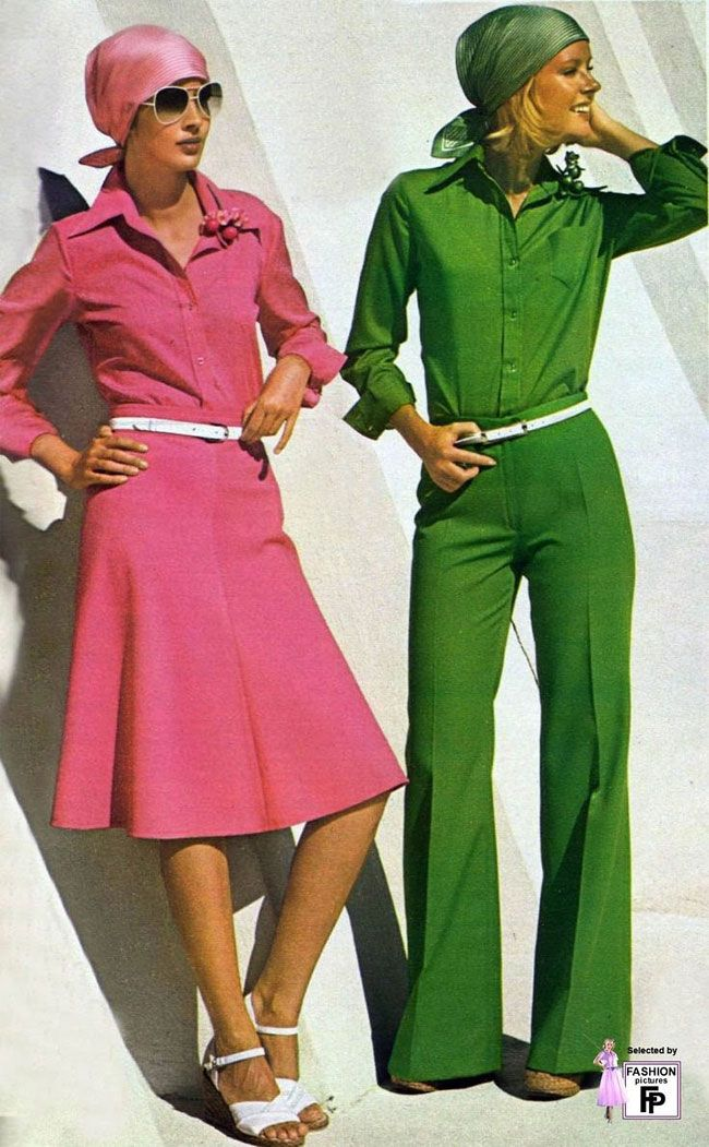 50 Awesome and Colorful Photoshoots of the 1970s Fashion and Style Trends