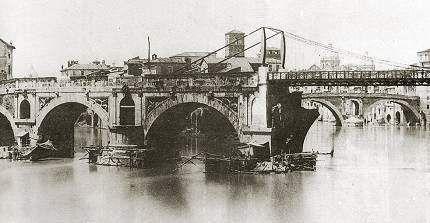 c'era una volta a Roma... - Ponte Rotto 1870