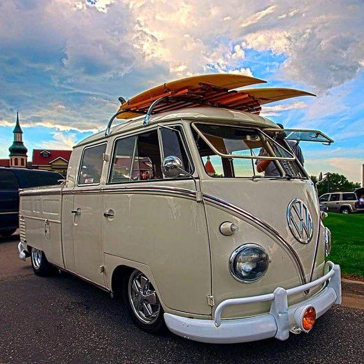 961 best cool vw cabs images on pinterest volkswagen bus vw vans and car. Black Bedroom Furniture Sets. Home Design Ideas