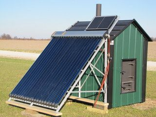 Acme Outdoor Wood Furnace on Pinterest :) with the solar hotwater heater 660-699-3845  The best built furnace at the best price find yours at acmefurnacecompany.com