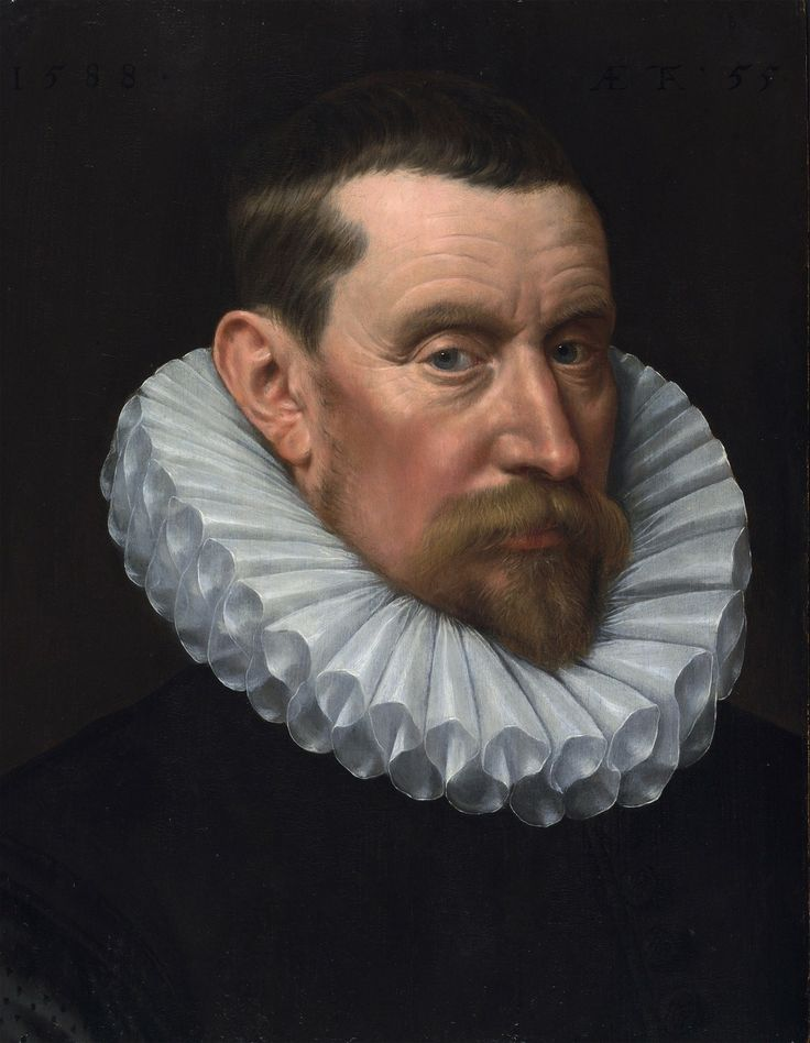 Adriaen Thomasz Key (c1540-1599), Portrait of an unknown Gentleman (possible self-portrait)