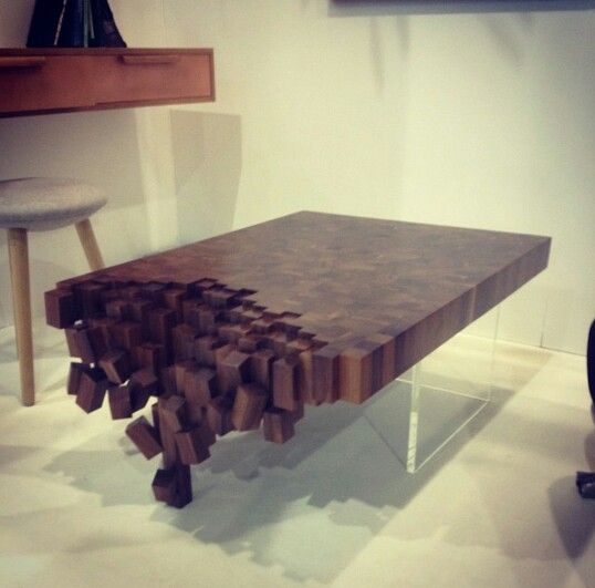 The decomposition table by IAN DEVENNEY. For similar amazing architecture and interior designs follow us on Instagram, Twitter, Facebook and Pinterest