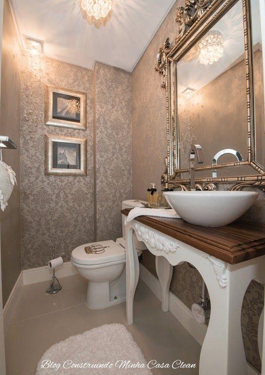 Construindo Minha Casa Clean: 55 Lavabos de Luxo!!! Pequenos e Sofisticados!