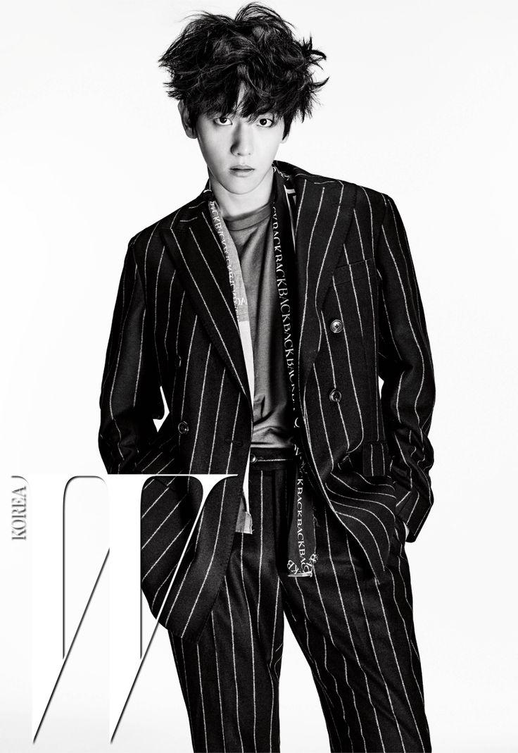 Baek Hyun - W Magazine July Issue '16