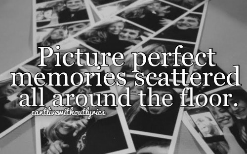 Literally pictures are scattered on floor as I flip thru them I wonder if we'll ever get those smiles back...