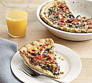 Crab Quiche Florentine Recipe | MyRecipes.com