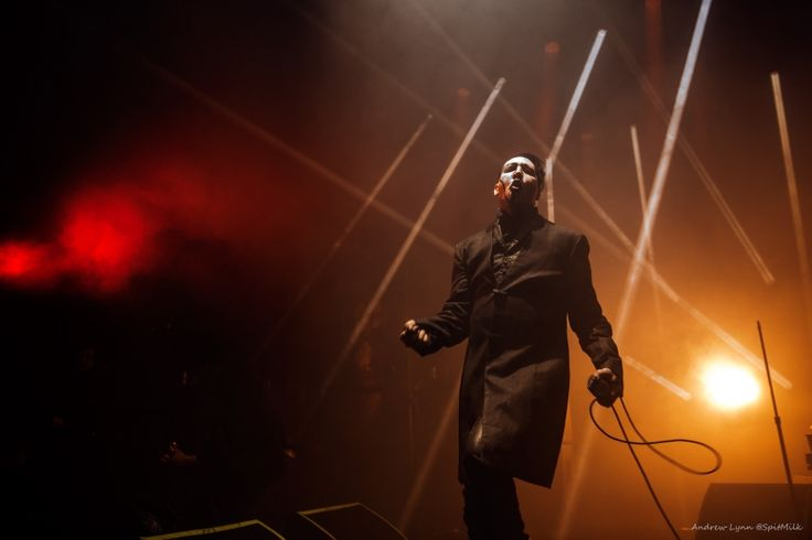 Marilyn Manson coasted into Edmonton on April 3 2015 for 100.3 The Bear