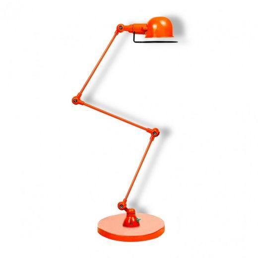 Jielde Style Orange Desk Lamp | Modern Table Lamps | Cult Furniture
