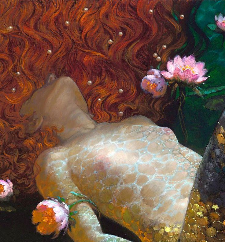 Victor Nizovtsev (Russian, b. 1965). From 'The Mermaids' series (detail)