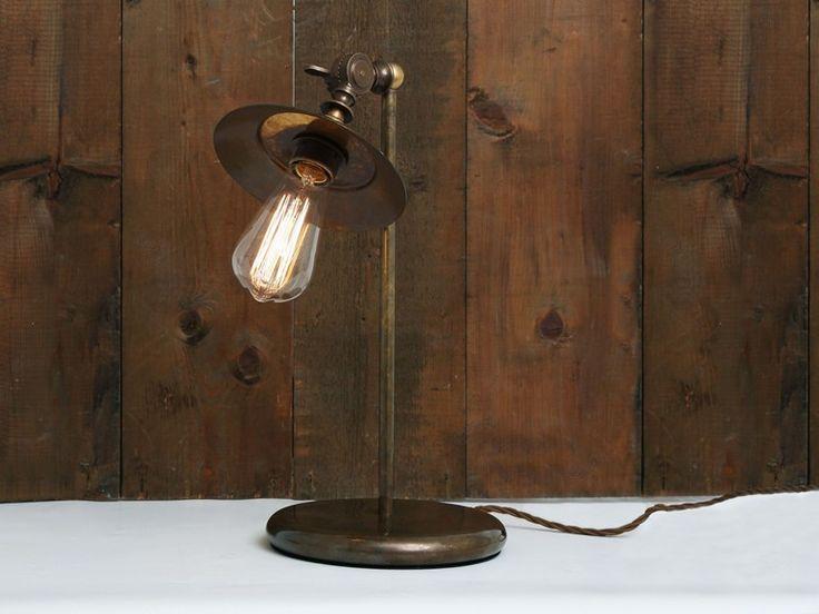 Buy Online Reznor Industrial Table Lamp By Mullan Lighting, Handmade  Adjustable Table Lamp Design Mike Part 54