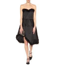 платье-бюстье с отрезной талией