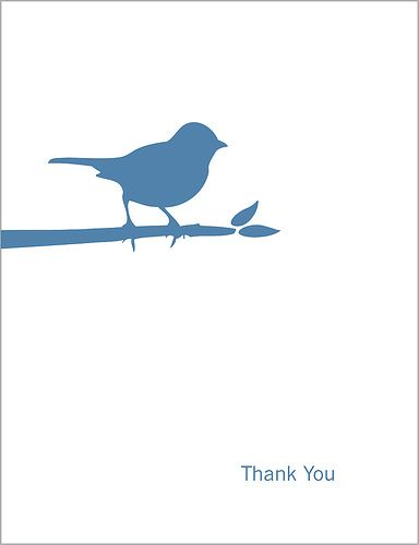 Love this little bird - Print by paperseed