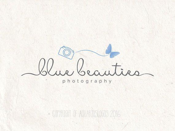 Photography logo  premade DIY logo psd template  by AquariusLogos