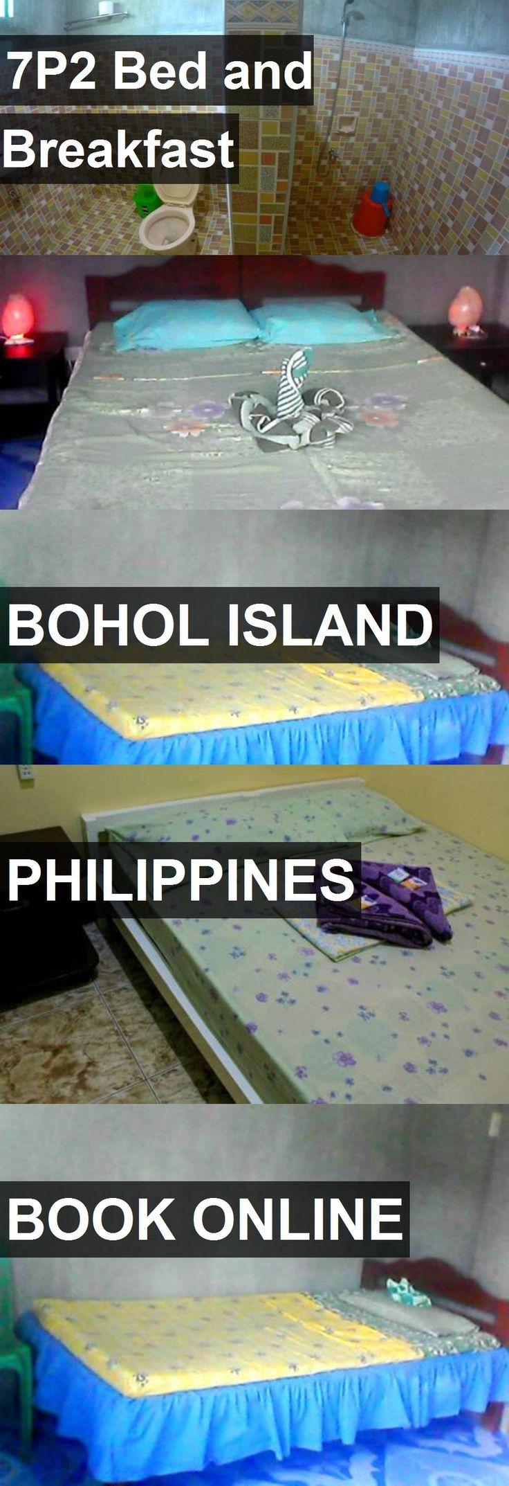 Hotel 7P2 Bed and Breakfast in Bohol Island, Philippines. For more information, photos, reviews and best prices please follow the link. #Philippines #BoholIsland #travel #vacation #hotel