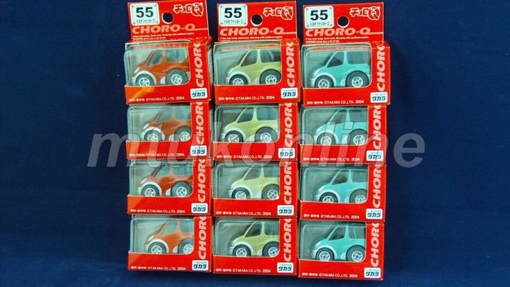 CHORO-Q STANDARD 2004 | TOYOTA FUNCARGO YARIS VERSO 1999 | 3 COLOR | SELL AS LOT