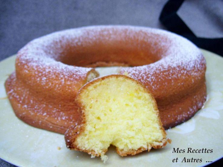 Gâteau Extra Moelleux Lemon Curd et Fève Tonka