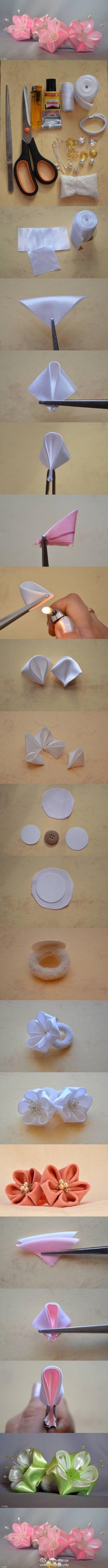 好美的丝绸花儿~图片来自网络——更多有趣内容,请关注@美好创意DIY (http://t.cn/zOR4l2D)