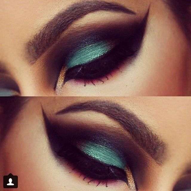 Love this strong bold smokey eye