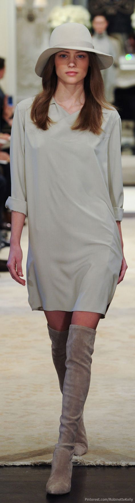 Ralph Lauren | Pre-Fall 2014 || Portrait - Fashion - Editorial - Runway - Catwalk - Photography - Pose Idea