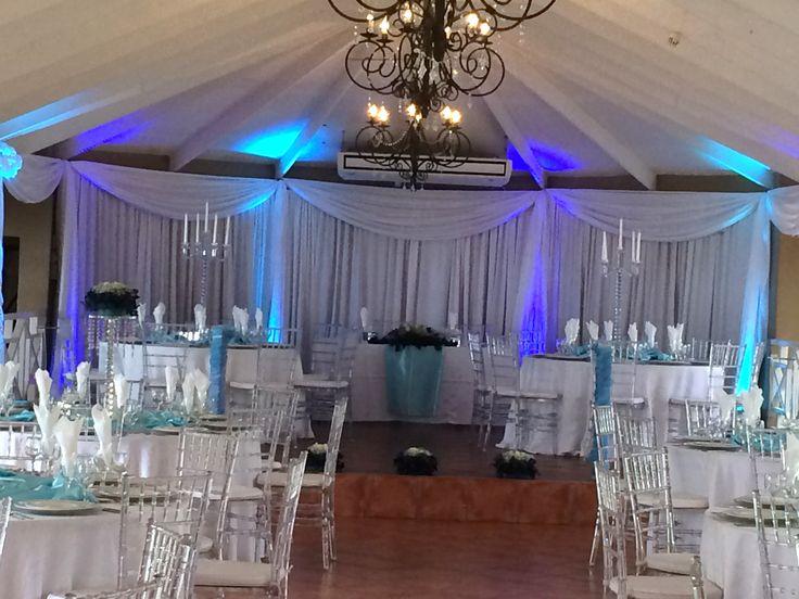 Wedding setting @ Three Oaks Function Venue in Centurion www.threeoaks.co.za