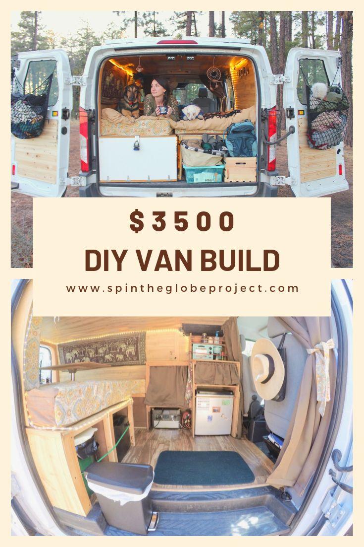 Budget Van Build- DIY Ford Transit Van Conversion