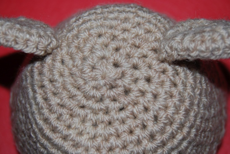 baby beanie pattern with ear flaps - bear beanie To knit/crochet - or get s...