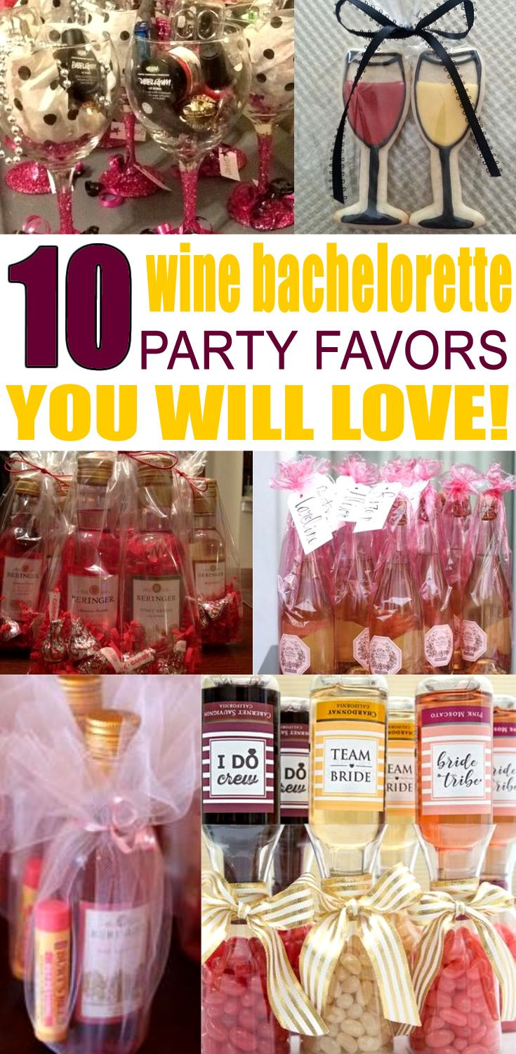 Wine Bachelorette Party Favors! Get Wine inspired bachelorette party ideas. Great for bridal showers, weddings and bachelorette party themes! Get DIY ideas & more. Any bride will love these ideas. Find alcohol, bags, hangover kits, survival kits that are classy and go for expensive to cheap. Get cool Wine wedding theme ideas now!