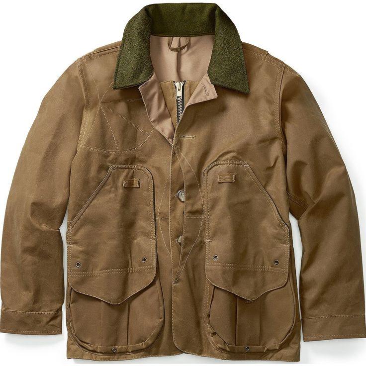 Filson Tin Cloth Field Hunting Coat | Dark Tan