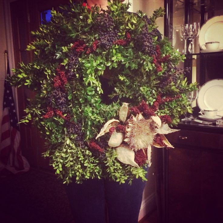 Thanks for starting the #Christmas season off right with wreath making at Monticello NatyB! #monticelloholiday