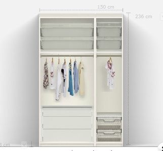 best 25 pax wardrobe planner ideas on pinterest. Black Bedroom Furniture Sets. Home Design Ideas