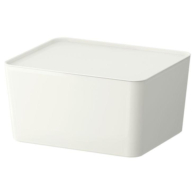 ふた付き ファイルボックス 白 - Google 検索