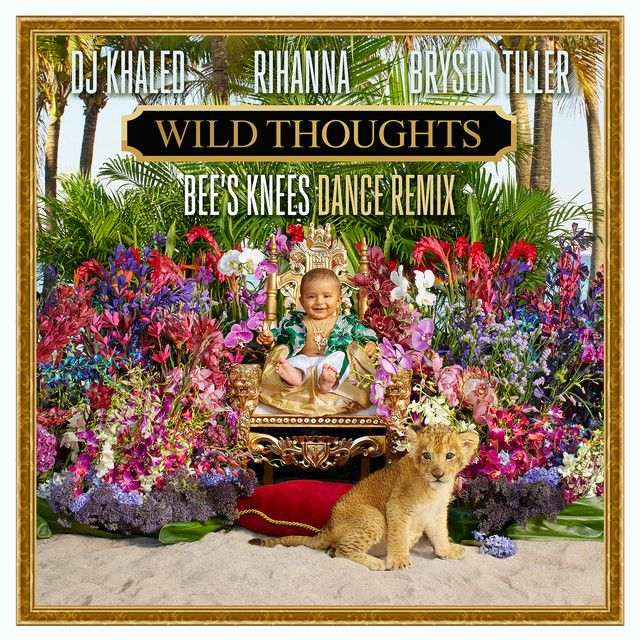 """""""Wild Thoughts - Bee's Knees Dance Remix"""" by DJ Khaled Bee's Knees Rihanna Bryson Tiller was added to my Discover Weekly playlist on Spotify"""