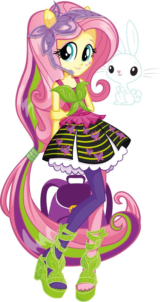 Fluttershy from My Little Pony Equestria Girls: Rainbow Rocks