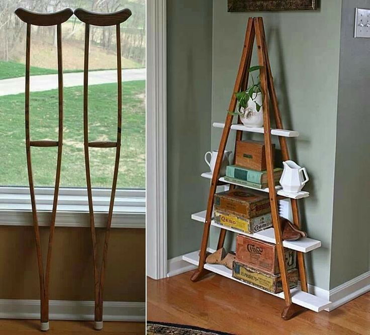 Crutches Shelf!!