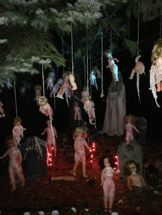 scary haunted woods ideas yahoo image search results - Best Scary Halloween Decorations