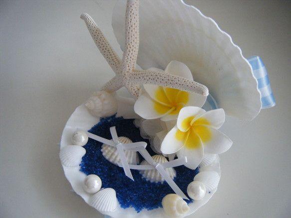 永く楽しめる本物のお花「プリザーブドフラワー」と本物の貝殻を使用したSweet Jewel Corporation大人気リングピローです☆プルメリアのプリザー...|ハンドメイド、手作り、手仕事品の通販・販売・購入ならCreema。