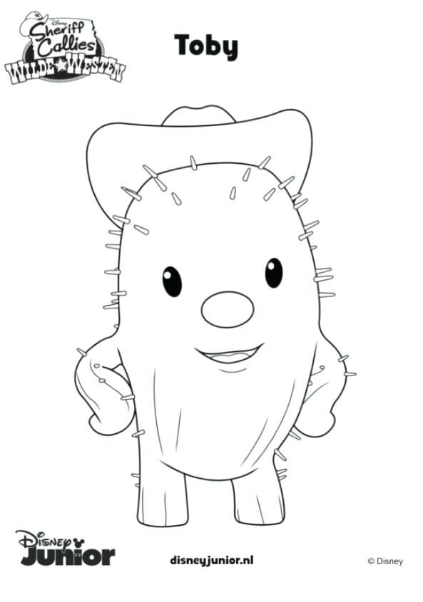 Sheriff Callie Coloring Pages Best Coloring Pages For Kids Sheriff Callie Sheriff Callie Birthday Kids Coloring Books