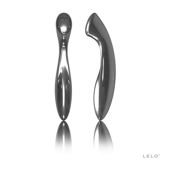 Olga is an elegant and luxurious pleasure object, crafted in stainless steel. The metal, enticing and evocative against the naked skin, offers exciting prospects for users inclined to the sensual utilisation of hot or cold. With one end precisely designed to reach and stimulate the G-spot area, and