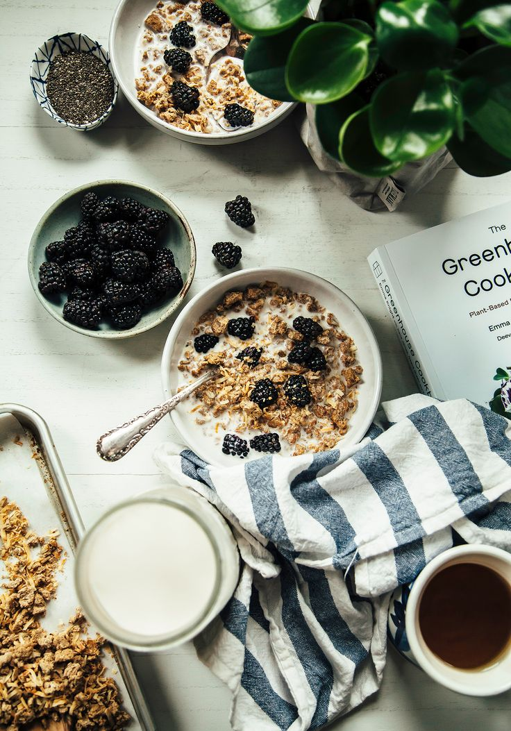 """NO-WASTE NUT MILK: NUT PULP GRANOLA FROM """"THE GREENHOUSE COOKBOOK"""" » The First Mess // Plant-Based Recipes + Photography by Laura Wright"""