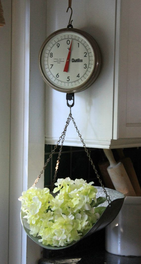 Delightful Vintage Chatillon Hanging Scale