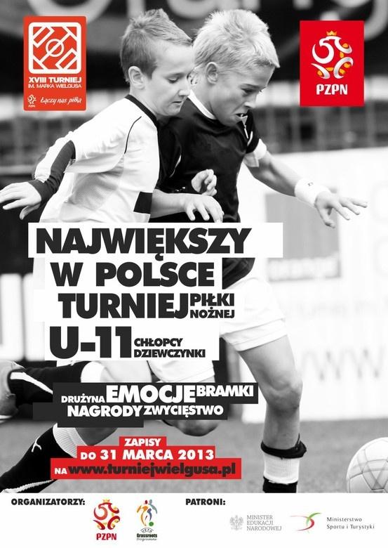 U-11 tournament poster
