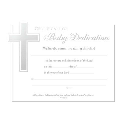 Best  Baby Dedication Certificate Ideas On   Baby