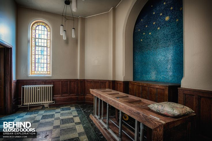 Selly Oak Hospital Mortuary - The mortuaries chapel of rest