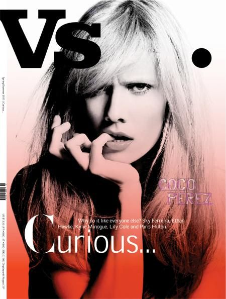 Kylie and Paris aren´t the only ones who got their own covers.  One of our new favorite artists Oh Land also snagged her own cover spot for Vs. magazine´s spring issue.  The Danish singer...