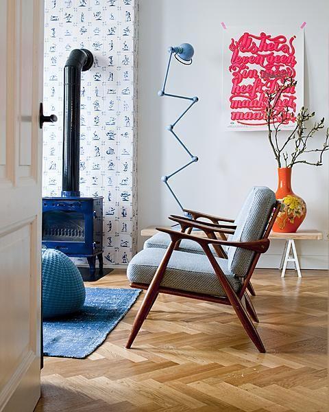 Great floor and even greater print - huis van de eigenaren van DIT