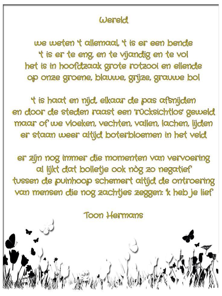 Citaten Vriendschap Toon Hermans : Toon hermans love pinterest dutch