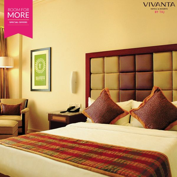 Business meets pleasure, as we give you everything and more. Book with the #RoomForMore offer at select Vivanta by Taj properties.   Book now: http://www.tajhotels.com/roomformore #Business #Hotel #Travel #Meetings #Work #WorkLife #Stay #BusinessTrips #Conference #Seminars
