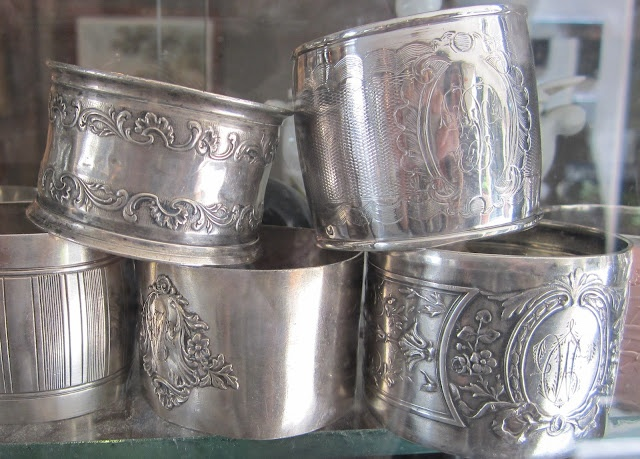 17 Best Images About Collectibles Napkin Rings And Salt