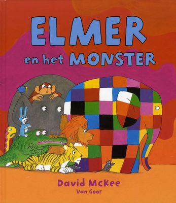 Elmer en het monster (2014) Auteur : David McKee