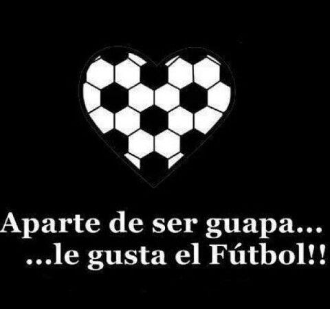 Le gusta el fútbol